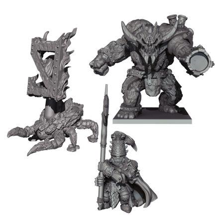 VANGUARD: Abyssal Dwarf Warband Booster