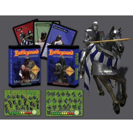 Battleground: Men of Hawkshold Reinforcements Display (4-pack)