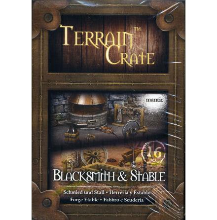 TERRAIN CRATE: BLACKSMITH & STABLE (2020)