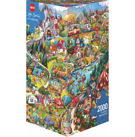 Berman: Go Camping! (2000 pieces triangular box)