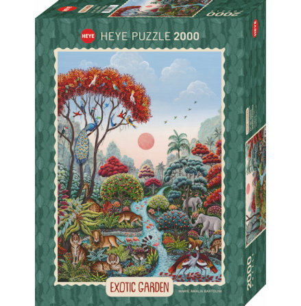 Exotic Garden: Wildlife Paradise (2000 pieces)