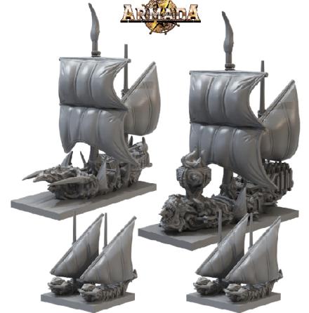 ARMADA: Twilight Kin Booster Fleet (Release September 2021)
