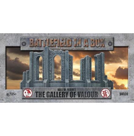 Gothic Battlefields - Gallery of Valour (x1) - 30mm