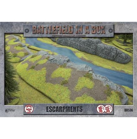 Escarpments (x2) - 15mm/30mm