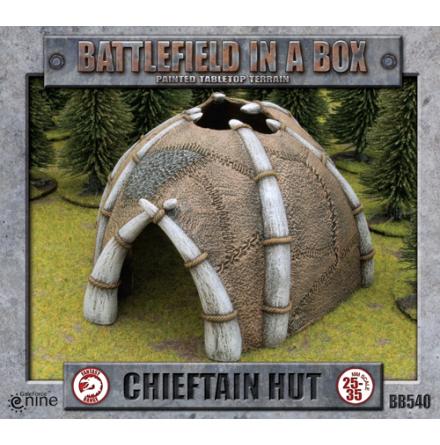 Chieftan Hut (x1) - 30mm