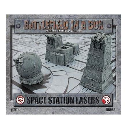 Galactic Warzones - Space Station Lasers