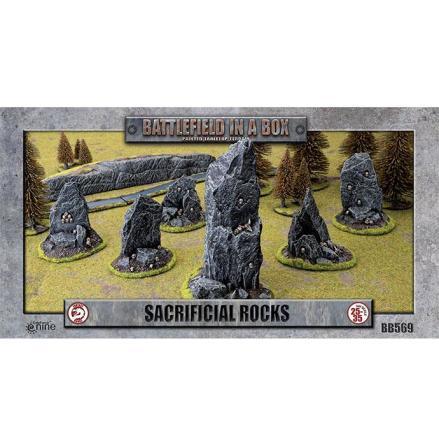 Sacrificial Rocks (x6) - 30mm
