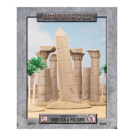 Forgotten City - Obelisk & Pillars