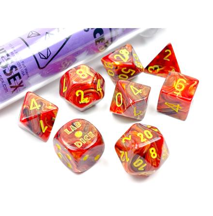 Vortex® Polyhedral Underworld/yellow 7-Die Set Release October