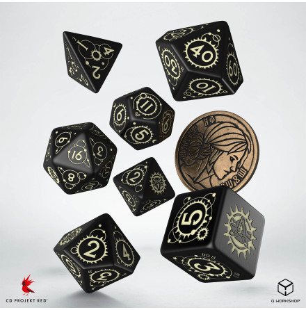 The Witcher Dice Set: Ciri - The Zireael (Release 17/11)