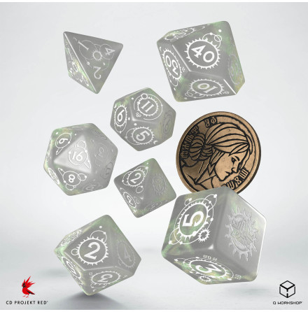 The Witcher Dice Set: Ciri - The Lady of Space and Time (Release 17/11)