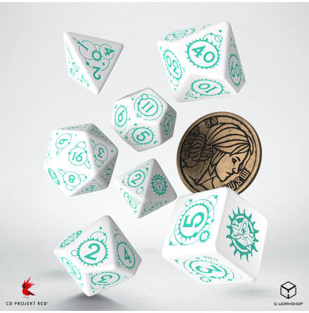 The Witcher Dice Set: Ciri - The Law of Surprise (Release 17/11)