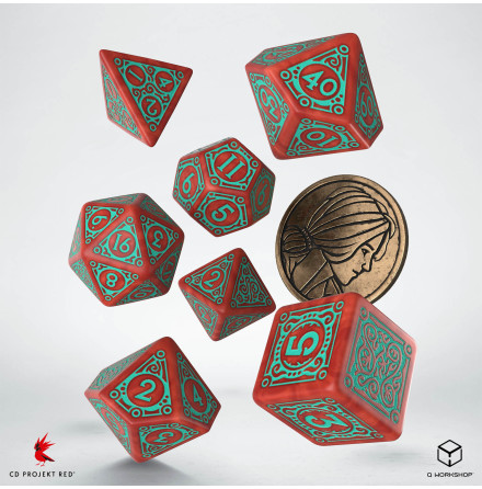 The Witcher Dice Set: Triss - Merigold the Fearless (Release 17/11)