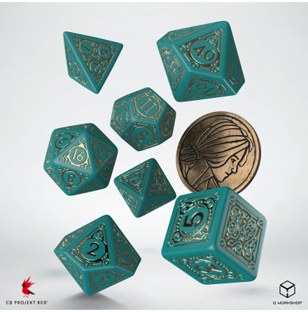 The Witcher Dice Set: Triss - The Beautiful Healer (Release 17/11)